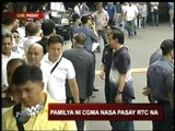 GMA arrives at Pasay court