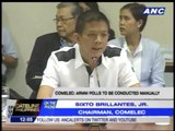 Comelec to Senate: Act now on bill to defer ARMM polls