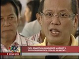 PNoy rebuts criticism during visit to flooded areas