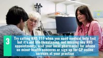 How to help the NHS