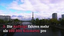 6 ungewöhnliche Dinge über den Eiffelturm