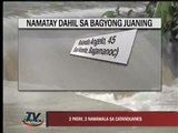 Typhoon Juaning batters Bicol Region