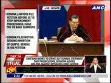 Enrile: Senators are referees, not combatants