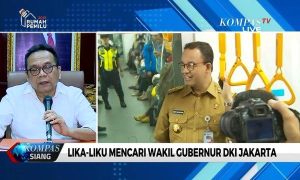 Rapat Pemilihan Wagub DKI Jakarta Kembali Batal Digelar
