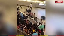 Des manifestants tabassés dans un métro de Hong Kong
