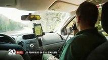 Les pompiers du Gard expliquent le dispositif de sécurité mis en place contre les incendies - VIDEO