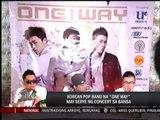 K-Pop sensation One Way in Manila