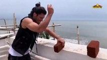 Post #BottleCapChallenge Vidyut Jammwal ACES the #JackieChanChallenge | Breaks Bricks with EGG|