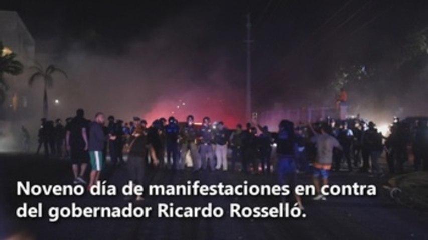 Puerto Rico llama a una nueva jornada de protestas