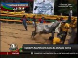 Bukidnon cowboys show skills in rodeo