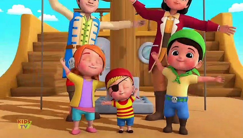 Pirate Ship - Kids Song & Baby Rhymes for Childrens - Cartoon Videos