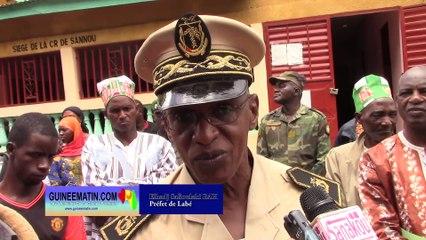 Le préfet de Labé aux jeunes de Sannoun : Levez-vous pour bénéficier les avantages de la République