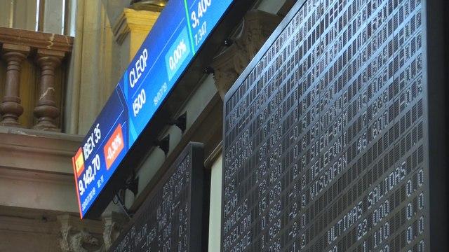 La bolsa española arranca la jornada del lunes de forma plana por debajo de los 9.200 puntos