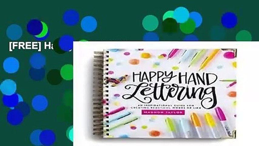 [FREE] Happy Handlettering