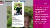 Kate Middleton : son fils George fête ses 6 ans et il a bien grandi