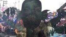 """Burning of Pres. Duterte's national effigy called """"Ang Shokoy ng Bayan"""""""