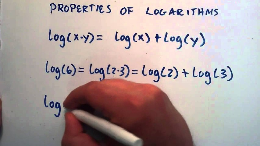 Properties of Logarithms : Logarithms, Lesson 5
