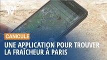 Canicule: une application pour trouver des îlots de fraîcheur à Paris