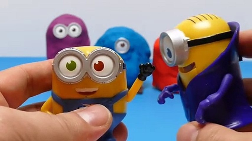 Special Play-Doh Minions Surprise Toys Game