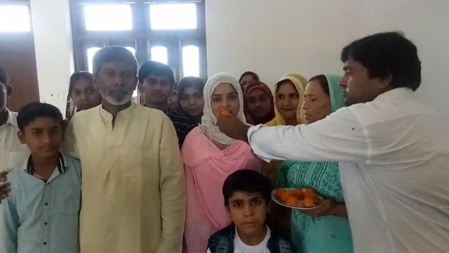 UP PCS-J 2018: किसान की बेटी मेहनाज खान बनी जज, ससुराल में मना जश्न