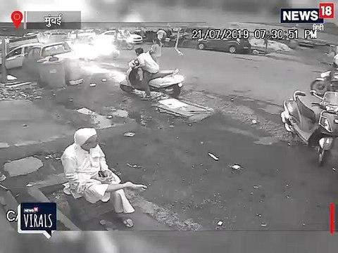नवी मुंबई में बेकाबू कार ने पांच बाइकों को रौंदा, दो की माैत