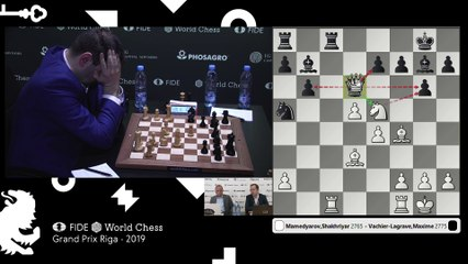 Grand Prix FIDE Riga 2019 Final Game 1