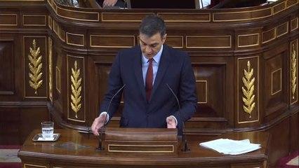"""Pedro Sánchez en el debate de investidura: """"Nadie va a parar Madrid Central"""""""