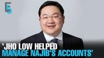 EVENING 5: Witness: Low helped with Najib's accounts