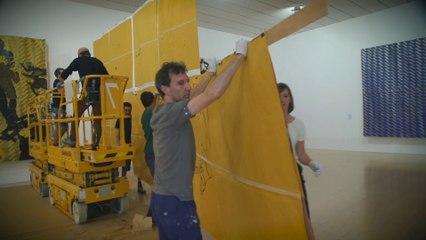 Un démontage d'exposition au Musée d'art contemporain de Lyon