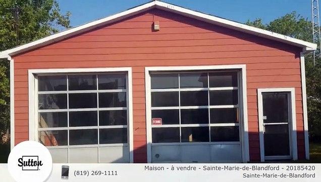 Maison - à vendre - Sainte-Marie-de-Blandford - 20185420
