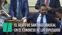 La postura de Santiago Abascal en el inicio de sensión