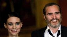 Joaquin Phoenix et Rooney Mara se seraient fiancés