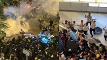 Third major march against extradition bill turns Hong Kong's financial district into battleground, sparks violent attacks on protesters by mob in Yuen Long