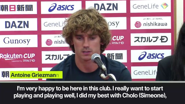 (Subtitled) 'I did my best to make things right with Atletico' Griezmann