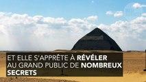 La pyramide rhomboïdale ouvre ses portes