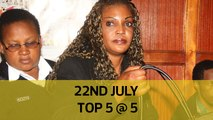 22nd July Top 5 @ 5