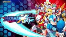 Mega Man X Dive - Vidéo d'annonce