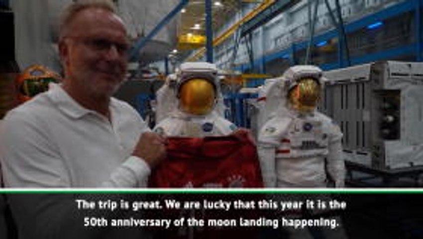 Bayern take off on trip to space station NASA