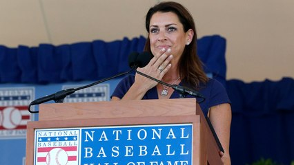 Roy Halladay's Wife Brandy Delivers a Powerful HOF Speech on Late Husband