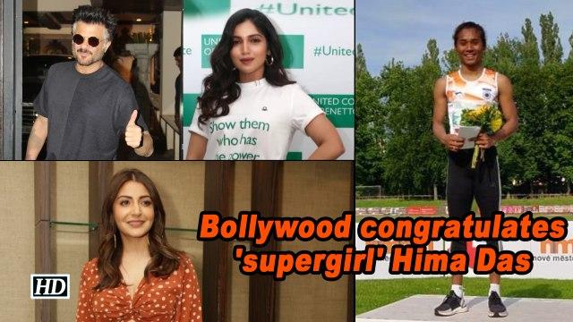 Bollywood congratulates 'supergirl' Hima Das