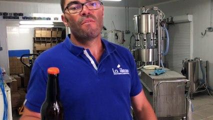 L'étiquetage des bouteilles de bières, étape-clé