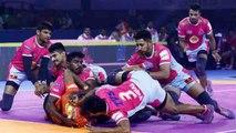 Pro Kabaddi 2019 Match Highlights: Jaipur Pink Panthers Thrash U Mumba 42-23 | वनइंडिया हिंदी