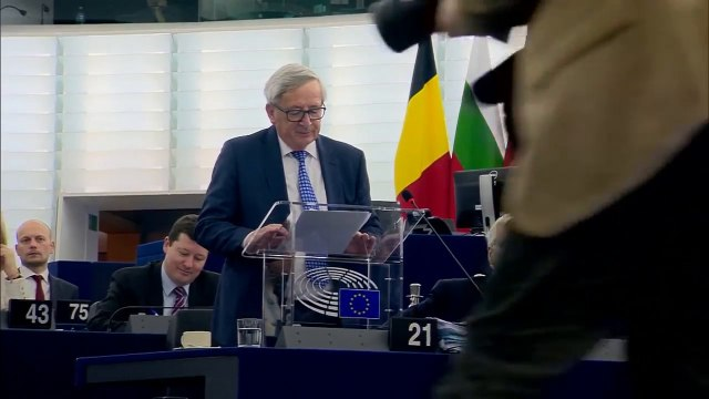 Farage laughs as Juncker claims UK will 'regret' Brexit