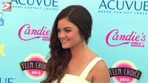Lucy Hale feels freed by clear skin