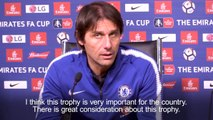 Chelsea boss Antonio Conte targets FA Cup glory after Leicester win