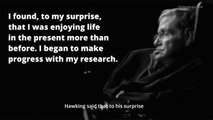 Physicist Stephen Hawking Passes Away