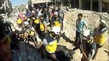 Ataques aéreos matam 43 civis na Síria
