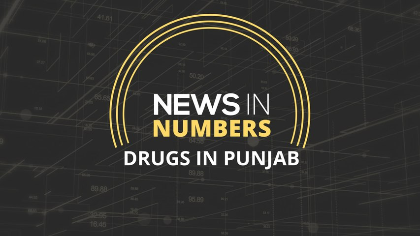 Narcotics in Punjab: News in Numbers
