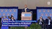 Mariano Rivera Shines at Baseball Hall of Fame Ceremony