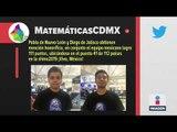 ¿Cuántas medallas ganó México en Olimpiada Matemáticas?   Noticias con Ciro Gómez Leyva